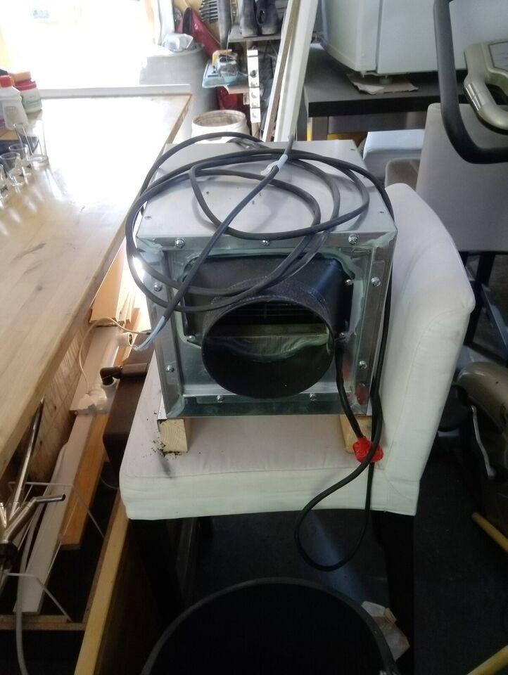 Emhætte, Thermex Rustfri stål, b: 60 h: 105