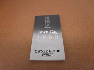90 1990 Lincoln Town Car owners manual