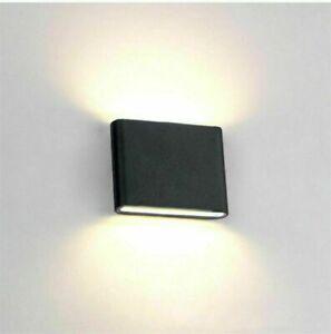 LED Außenwandlampe Wandleuchte Außenlampe Außen-Leuchte IP65 Gartenleuchte DHL