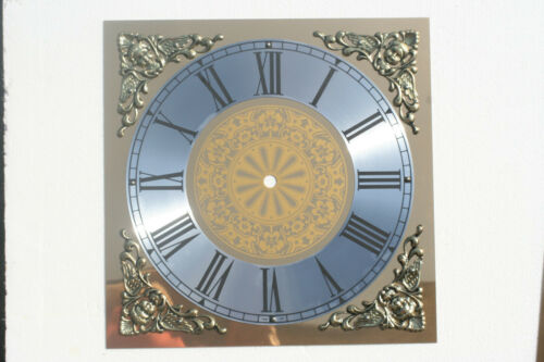 250 X 250mm Eckig Uhr Zifferblatt mit Guss Zwickeln
