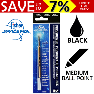 Fisher-Space-Pen-Refill-Parker-Style-Ball-Point-Write-UNDER-Water-Medium-BLACK
