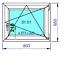 Finestre-in-PVC-Colori-NOCE-e-QUERCIA-D-039-ORATA-Aluplast-ID-4000-Misure-diverse miniatuur 28