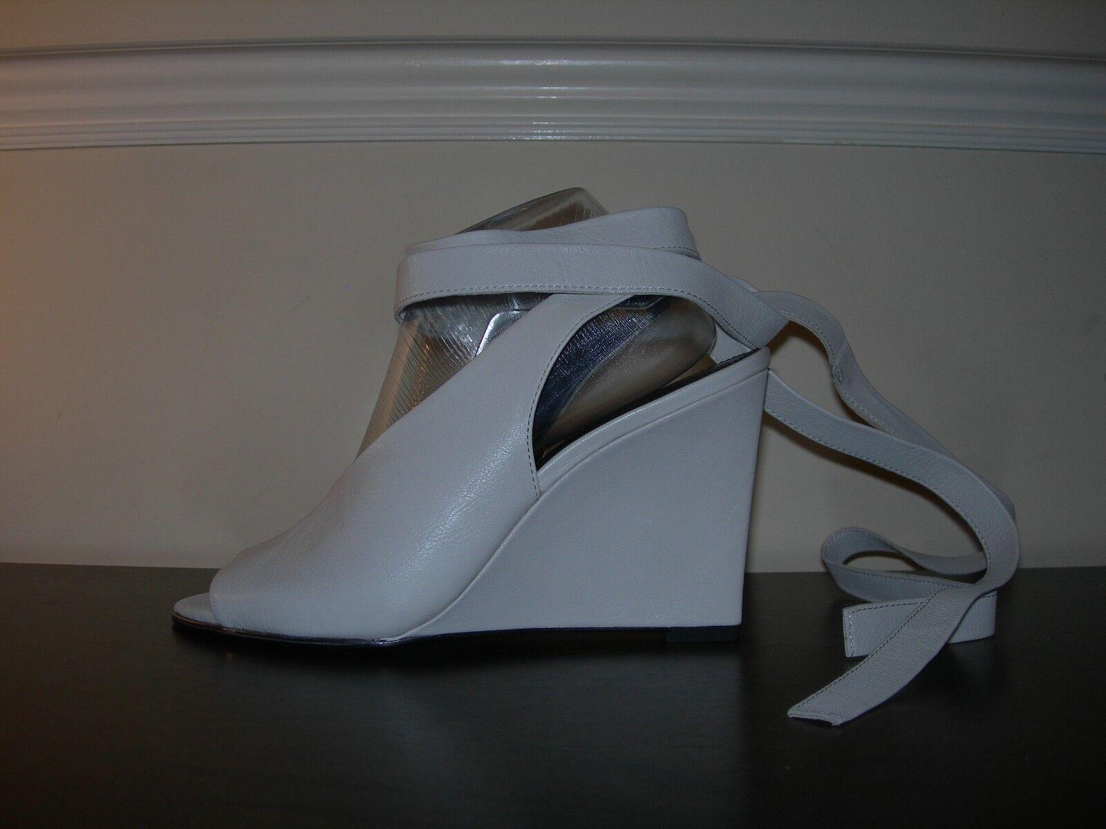 NEXT Scarpe Donna Sandali Zeppe crema Open Toes Gamba CRAVATTE crema Zeppe in pelle 41 EU/ 287823