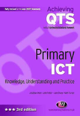 """AS NEW"" Sharp, Jane, Turvey, Keith, Allen, Jonathan, Potter, John, Primary ICT:"