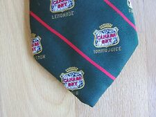 Early CANADA Dry Various Drinks Promotional Tie
