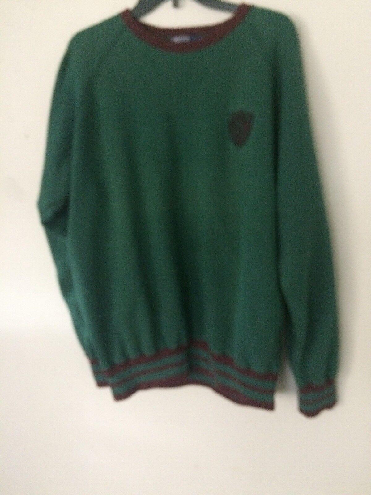 Vtg 80s 90s Polo Ralph Lauren RLPC Green Sweatshi… - image 1