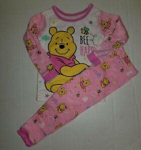 Disney-Winnie-the-Pooh-Pajamas-2-piece-Set-Baby-Girls-18-Months-Pink-100-Cotton