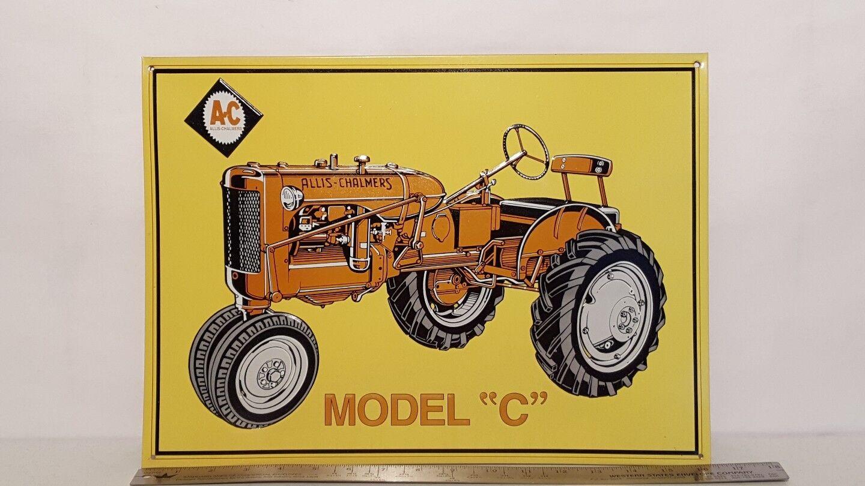 Allis Chalmers model model model C metal sign c219ed