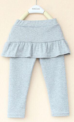 Girls Skirted Leggings//Skeggings in a choice of 9 colours sizes 3-8 yrs