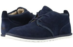 2e88c0dc905 Details about UGG Men's Maksim Suede Leather Chukka Shoes Ankle Boots  1016680, New Navy Sz 18