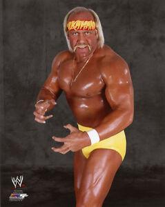 Pro-Wrestler-HULK-HOGAN-Glossy-8x10-Photo-Wrestling-WWF-Print-WWE-Poster