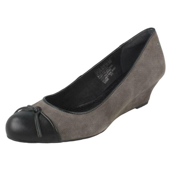 Rockport Damas Slip On Cuña Zapatos-k71848-ver
