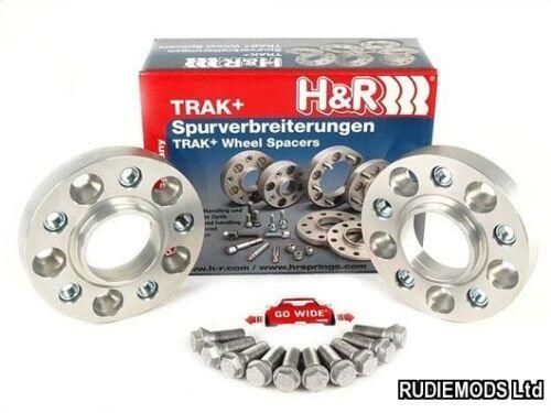 H/&R 20 mm Hubcentric Wheel Distanziatori Per Adattarsi BMW serie 3 E36 E46 E90 E91 E92 E93