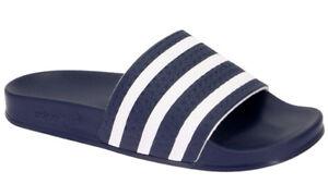 Adidas-CIABATTA-GOMMA-ADILETTE-288022-Blu-Bianco-mod-288022