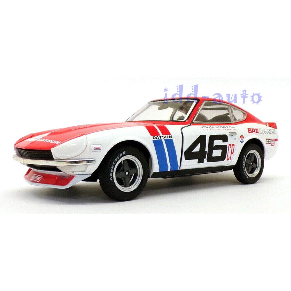 Greenlight 1:64 LOOSE John Morton 1970 DATSUN 240Z BRE Brock Racing Enterprise