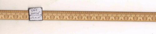 "basswood dollhouse miniature 1:12 scale 24/"" long USA made 1pc Fancy Trim 3008"