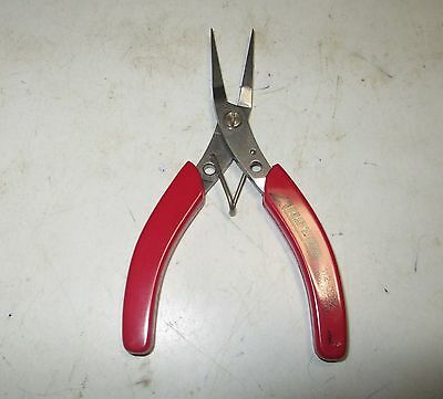 New Astar 112-0052 Precision Electronics-Jewelry Smooth Flat Jaw Long Nose Plier