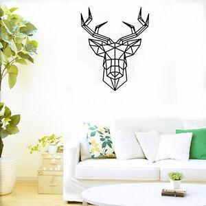 Geometrique-Cerf-Autocollant-Sticker-Mural-Noir-Muraux-Decoration-Chambr-be-T4K0