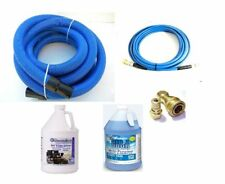 Carpet Cleaning 25ft Vacuum Solution Hoses Chemical