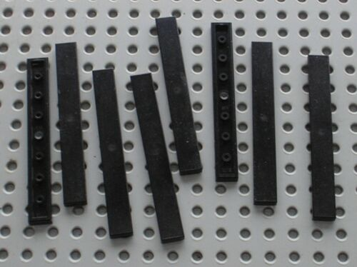 Set 75181 75190 75189 21030 31049 ... 8 x LEGO Black tile ref 4162