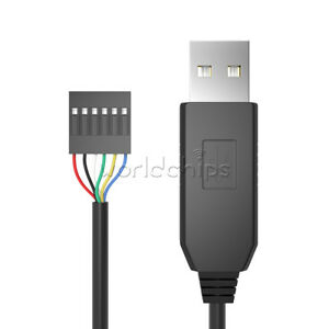 FT232RL USB to Serial adapt module USB TO TTL RS232 Arduino Cable 6Pin LY