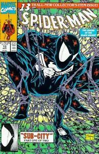 Marvel-Spider-Man-13-Comic-Todd-McFarlane-Black-Symbiote-Suit-1991-NM