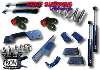 Crown Suspension 1997-2003 Ford F150 V8 3/5 Lowering Drop Coil Flip Kit Shocks