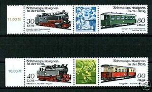 DDR-1984-Sc2405-06-Mi2864-67-mnh-Locomotives