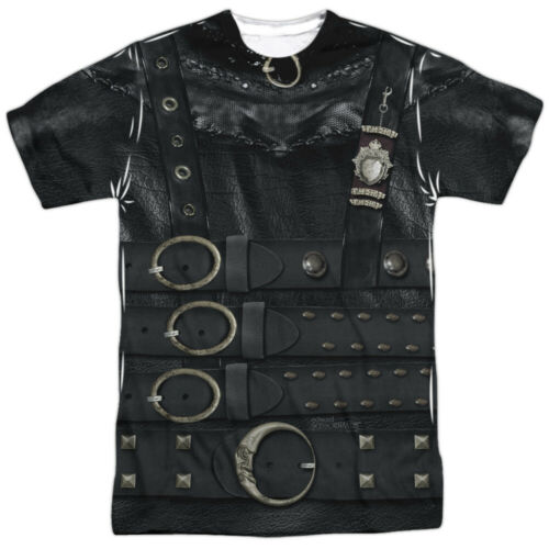 Authentic Edward Scissorhands Costume Outfit Sublimation Allover Front T-shirt