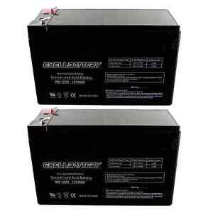 UPG 12V 10AH SLA Battery Replacement for APC BE650BB-CN, BR900 - 4 Pack 759478163143   eBay