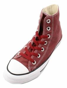 Converse-Chuck-Taylor-Unisex-Jester-Red-Canvas-Hi-Top-Fashion-Sneakers