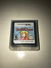 Super Princess Peach Video Game w/ Case for Nintendo DS Lite TESTED