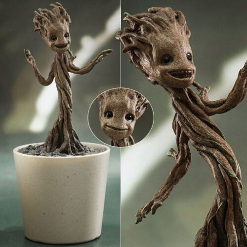 Hot Marvel Guardians of the Galaxy Baby Little Groot 1//4 PVC Figure Figurine Box