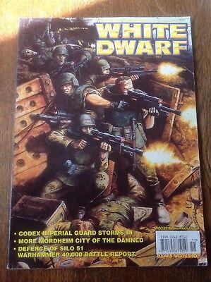 Inteligente Warhammer. White Dwarf Numero 239. Warhammer Magazine.-mostra Il Titolo Originale Tieniti In Forma Per Tutto Il Tempo