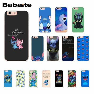 For Fundas IPhone X XS Case Stitch Soft TPU Cartoon Phone Shell