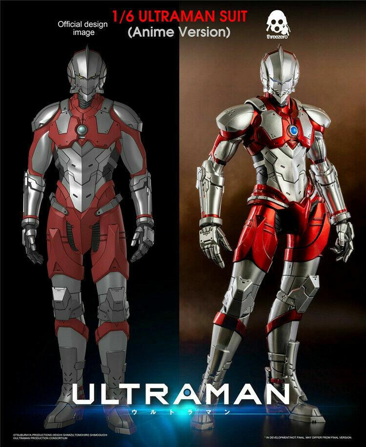 1 6 Traje De Ultraman Anime versión Threezero 3A 3Z0129 Altman Figura de Acción Juguetes