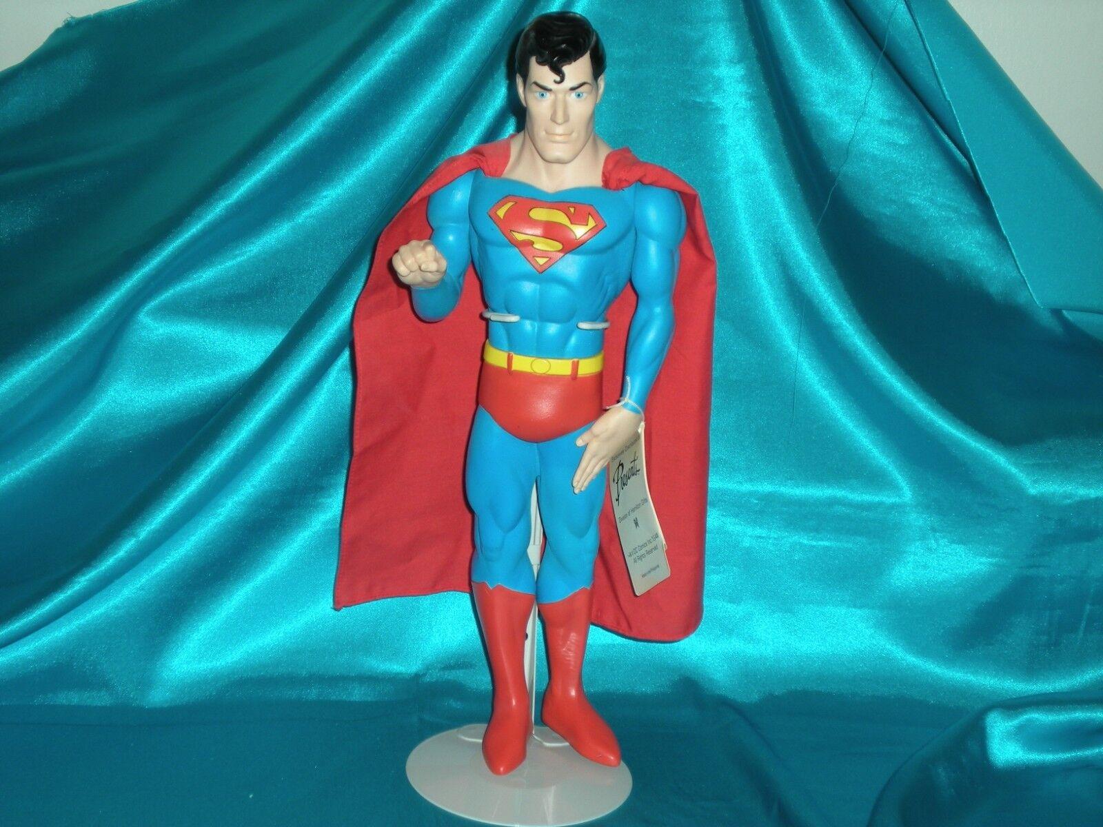 SUPERMAN  Vintage 13  Applause Presents Vinyl Figure, 1982, w  Stand, Very Good