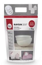 4 kg RAYSIN 200 Gießmasse zum Gießen RAYHER für Deko-Ideen WEISS 34410102