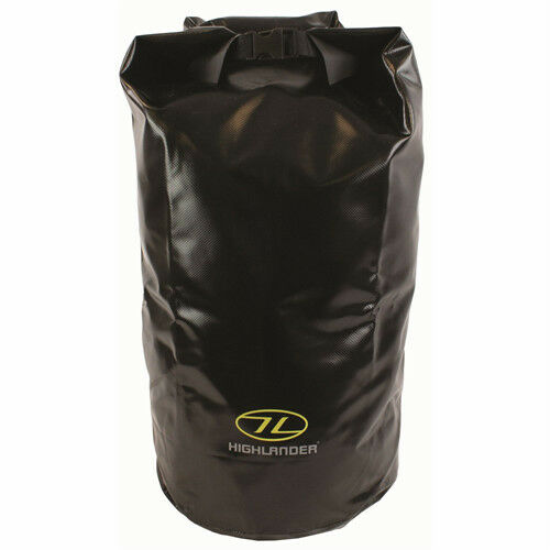 29 LTR DRY BAG Large trilaminate tough survival pack waterproof sack SAS Black