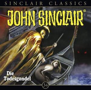 DIE-TODESGONDEL-JOHN-SINCLAIR-CLASSICS-FOLGE-34-CD-NEW