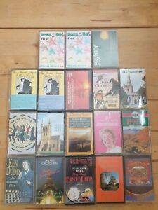 audio music cassette tapes bundle joblot x 18 as pictured mct11
