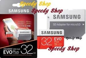 Samsung-Micro-SD-32-GB-64-GB-EVO-PLUS-scheda-memoria-classe-10-microSDHC-SDXC