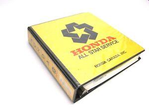 Honda factory shop manual binder, generators: e2500, es3500, e4500.