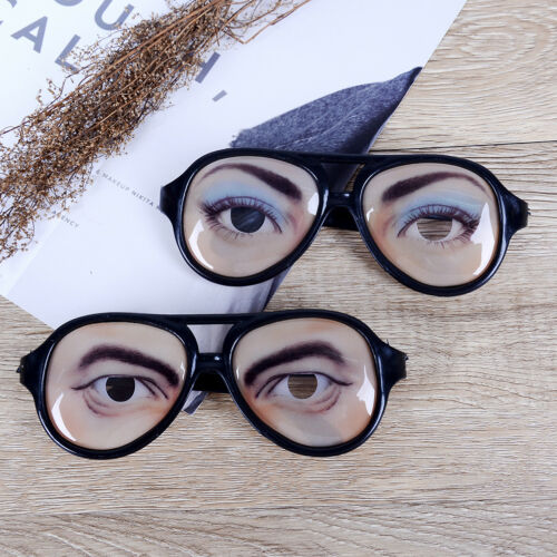 1Pc Novelty glasses halloween toy photo booth props party funny glasses  VQ