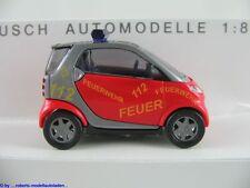 """Busch 48908 Smart City Coupé (2000) """"Feuerwehr Hamburg"""" 1:87/H0 NEU/OVP"""