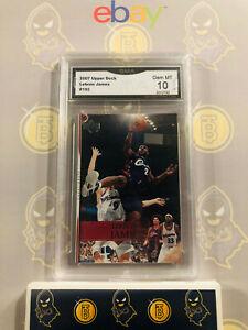 2007-Upper-Deck-Lebron-James-192-10-GEM-MT-GMA-Graded-Cavs-Basketball-Card