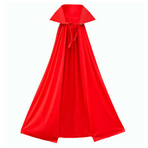 40-034-Red-Cape-with-Stand-Up-Collar-ADULT-CHILD-DEVIL-SUPERHERO-COSTUME-CAPE