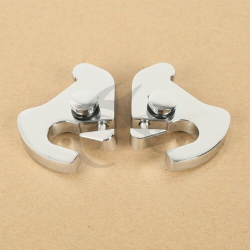 Luggage Detachable Rack Latch Kit Fits Harley Electra Road Street Glide Softail