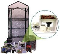 Mushroom Ecosphere Growing Kit - Custom Heated Greenhouse - Complete System