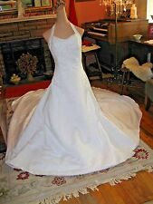 CORSET STYLE WEDDING GOWN DRESS   Sz 10